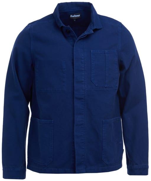 Men's Barbour Duncansea Overshirt - Regal Blue