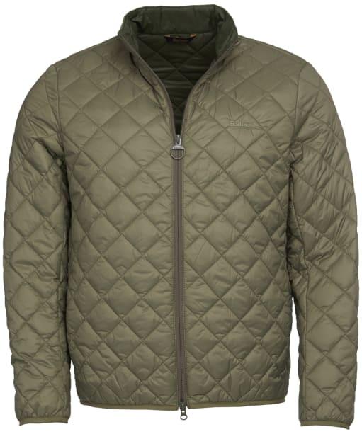 Men's Barbour Belk Quilted Jacket - Dusty Olive