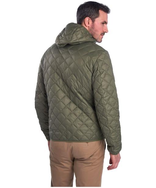 Men's Barbour Holg Quilted Jacket - Dusty Olive