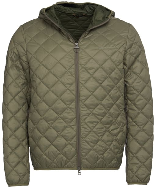 Men's Barbour Holg Quilted Jacket - Dusty Olive