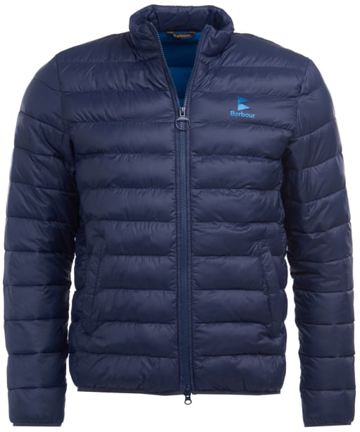 Men's Barbour Blig Quilted Jacket - Navy