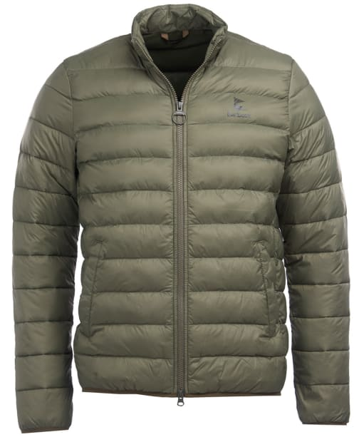 Men's Barbour Blig Quilted Jacket - Dusty Olive