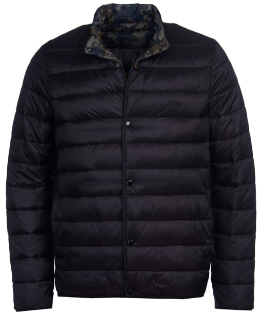Men's Barbour International Mark Quilted Jacket - Black