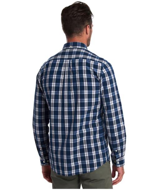 Men's Barbour Indigo 8 Tailored Shirt - Indigo Check