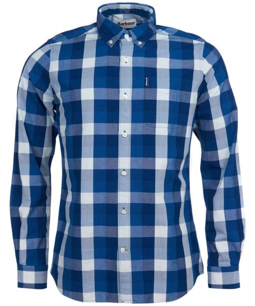 Men's Barbour Indigo 9 Tailored Shirt - Indigo