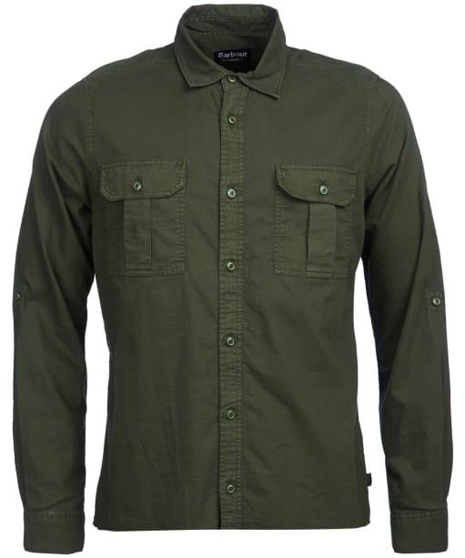 Men's Barbour International Manifold Shirt - Jungle Green