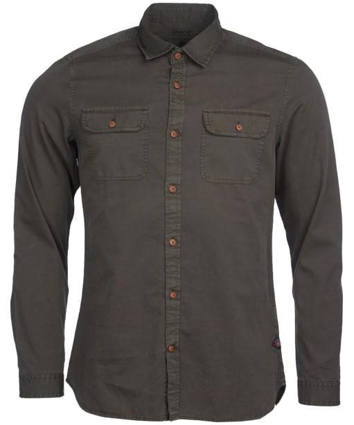 Men's Barbour International Steve McQueen Henri Shirt - Olive Check