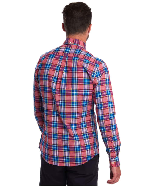Men's Barbour Highland Check 26 Tailored Shirt - Red Check
