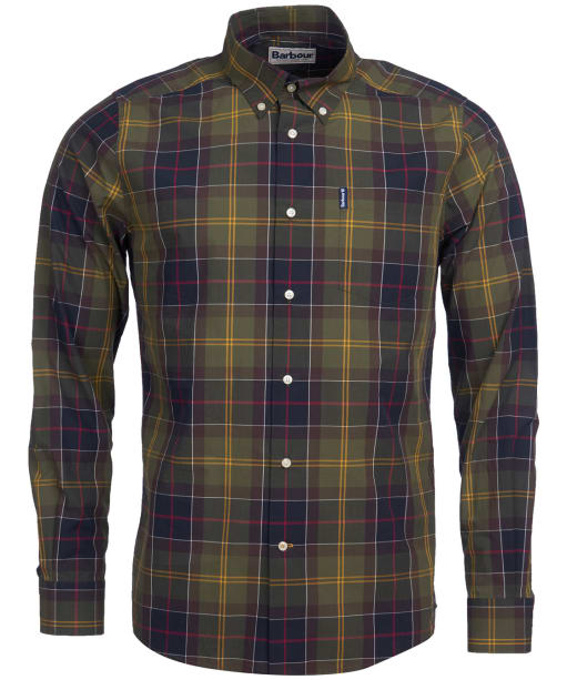 Men's Barbour Tartan 7 Tailored Shirt - Barbour Classic