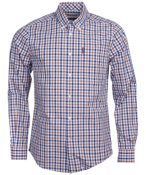 Men's Barbour Gingham 15 Tailored Shirt - Mocha