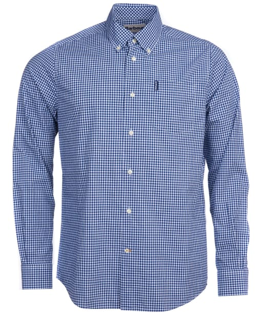Men's Barbour Gingham 19 Tailored Shirt - Inky Blue