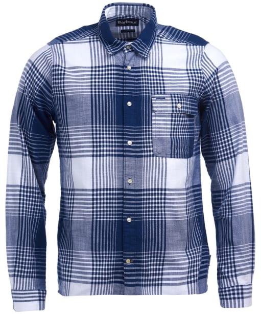 Men's Barbour Coast Check Shirt - Navy Check
