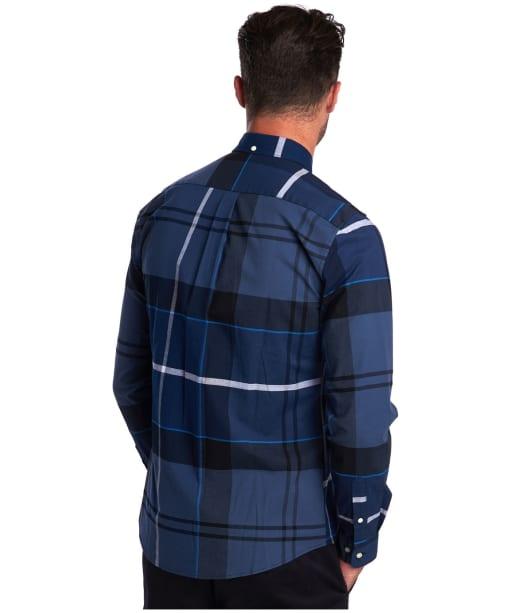 Men's Barbour Sutherland Shirt - Inky Blue