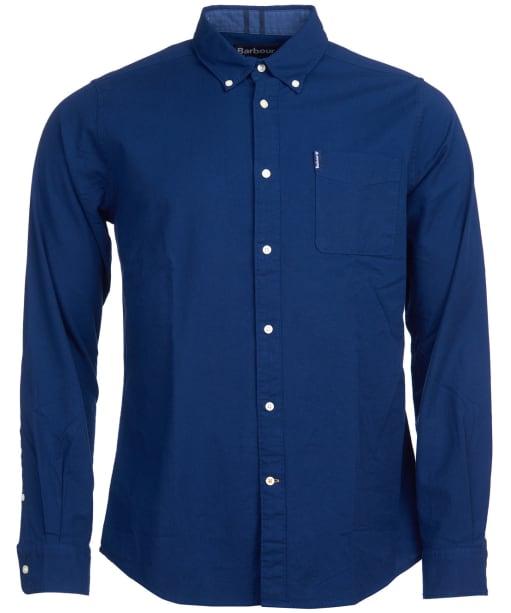 Men's Barbour Flemington Shirt - Inky Blue