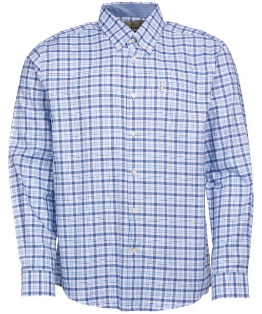 Men's Barbour Abberton Shirt - Blue Check