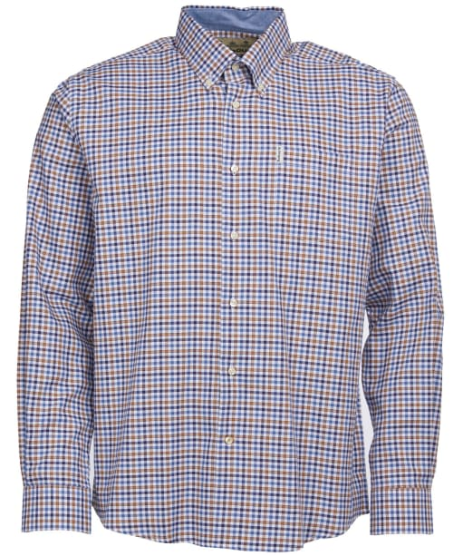 Men's Barbour Agden Shirt - Sandstone Check