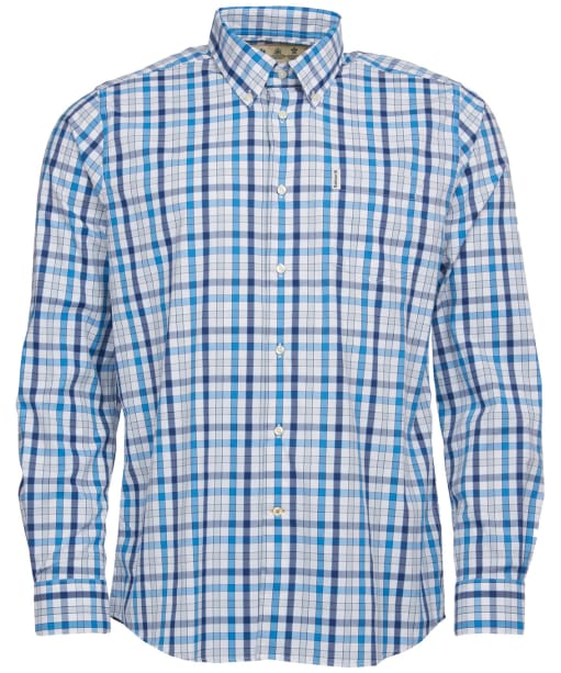 Men's Barbour Creswell Performance Shirt - Blue Check