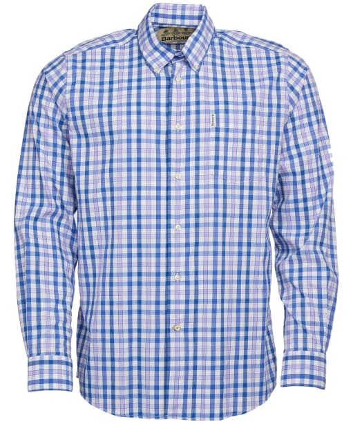Men's Barbour Creswell Performance Shirt - Heather Check
