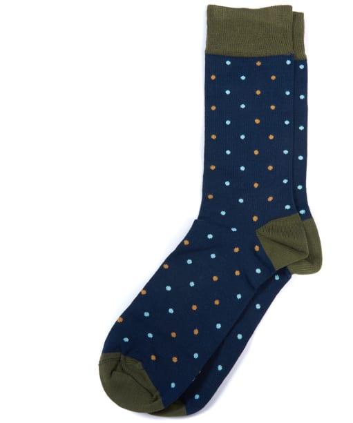 Men's Barbour Brunton Socks - Navy