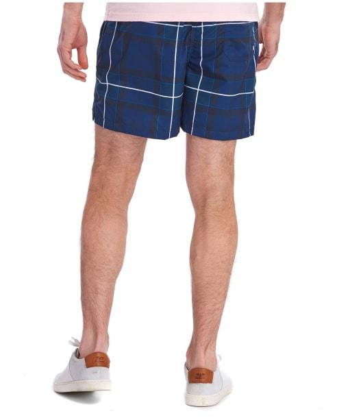 Men's Barbour Tartan Swim Shorts - Ink