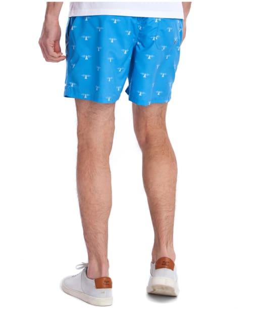 Men's Barbour Coastal Swim Shorts - Light Blue