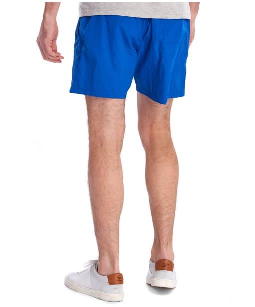 """Men's Barbour Essential Logo 5"""" Swim Shorts - Bright Blue"""