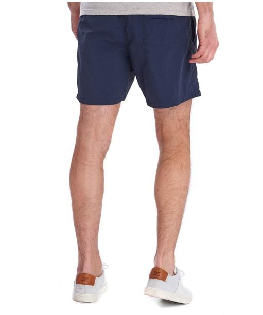 "Men's Barbour Essential Logo 5"" Swim Shorts - Navy"