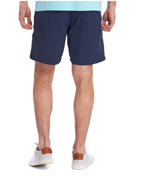 "Men's Barbour Essential Logo 7"" Swim Shorts - Navy"