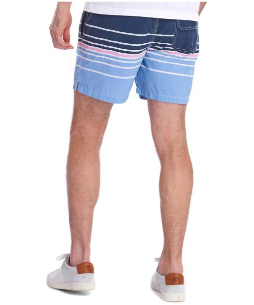 Men's Barbour Gradient Swim Shorts - Navy