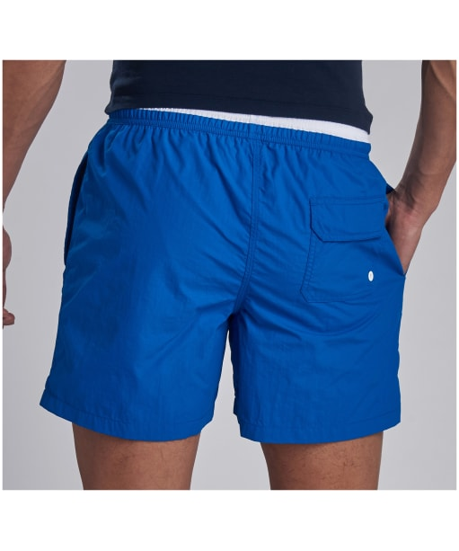 Men's Barbour International Edge Trim Swim Shorts - Neela Blue