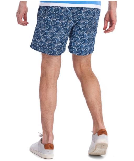 Men's Barbour Wave Swim Shorts - Inky Blue
