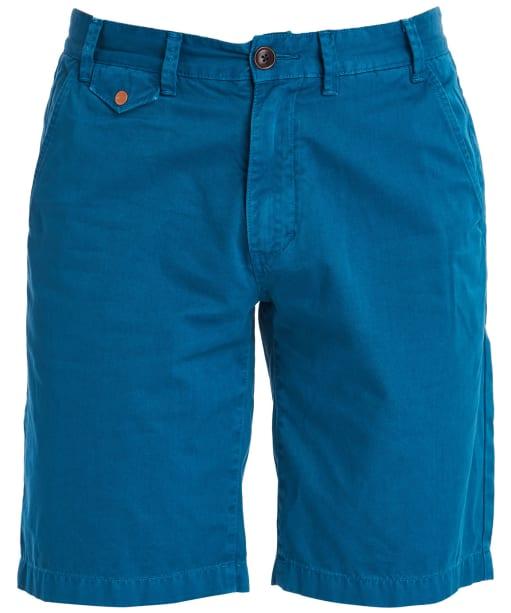 Men's Barbour Neuston Twill Shorts - Aqua