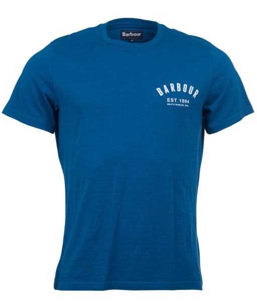 Men's Barbour Preppy Tee - Aqua