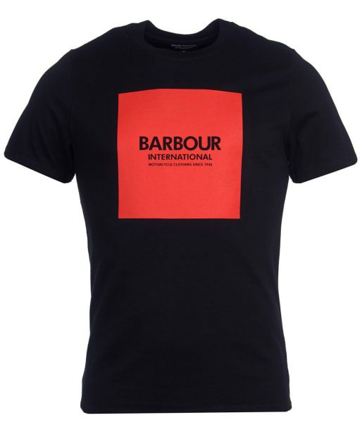 Men's Barbour International Block Tee - Black