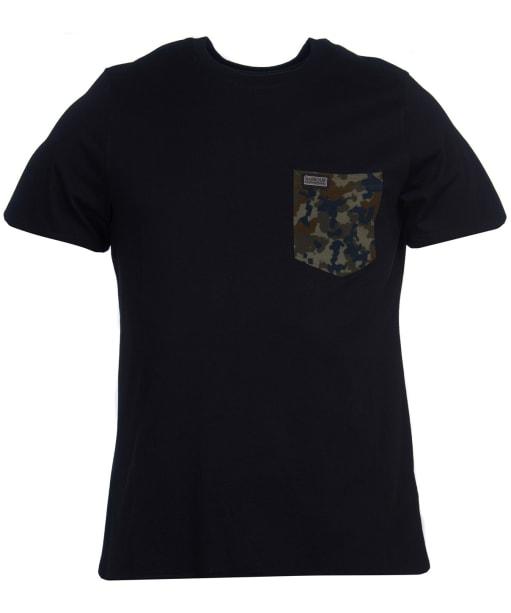 Men's Barbour International Hex Pocket Tee - Black