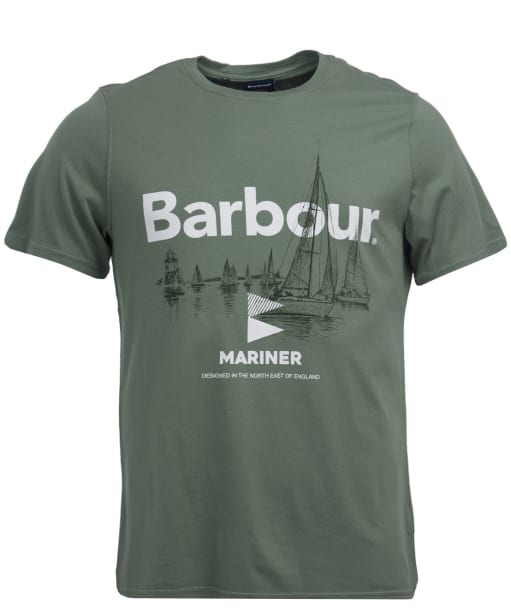 Men's Barbour Skiff Tee - Agave Green