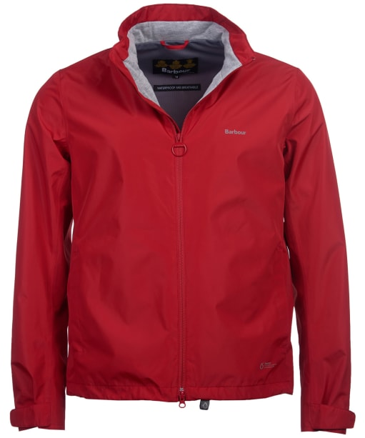 Men's Barbour Cooper Waterproof Jacket - Chilli Red