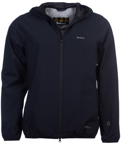 Men's Barbour Bransby Waterproof Jacket - Black
