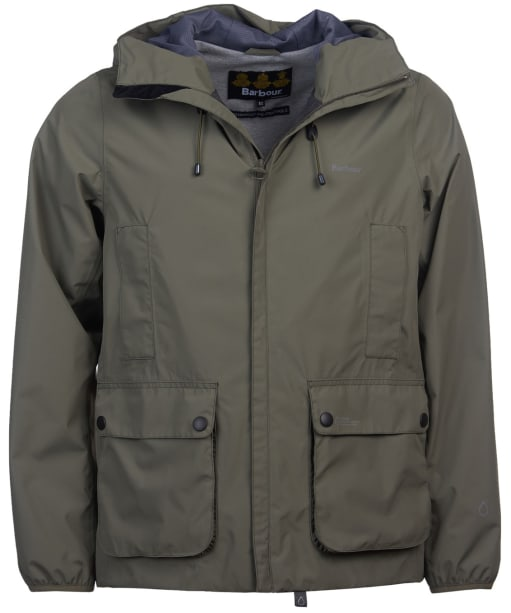 Men's Barbour Bennett Waterproof Jacket - Dusty Olive