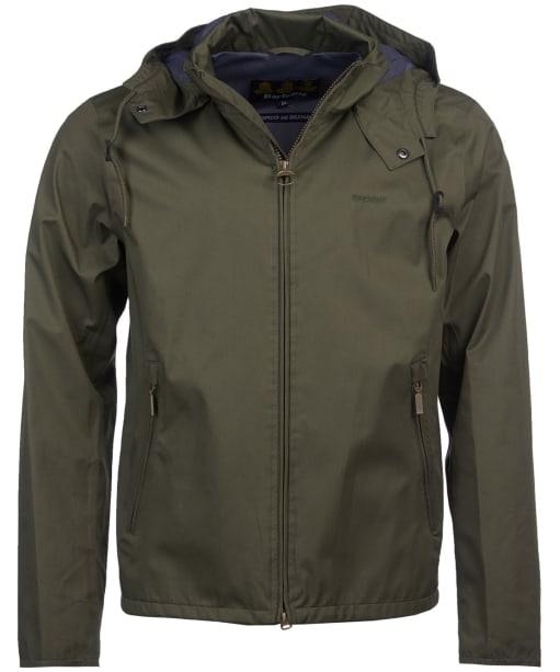 Men's Barbour Linfield Waterproof Jacket - Dusty Olive