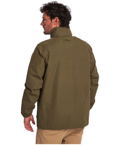 Men's Barbour Stanley Waterproof Jacket - Dusty Olive