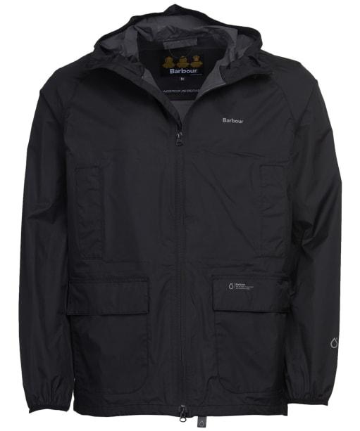Men's Barbour Ashdown Waterproof Jacket - Black