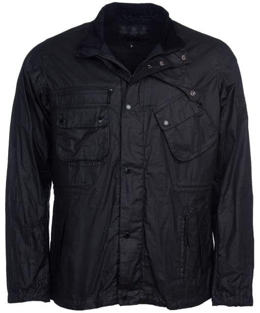 Audio Wax Jacket - Black