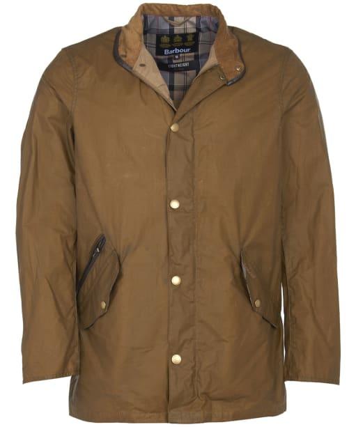 Men's Barbour Lightweight Prestbury Waxed Jacket - Sand