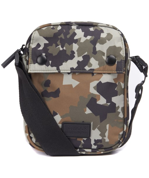 Men's Barbour International Camo Utility Bag - CAMO GREEN