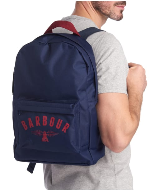 Barbour Hartland Backpack - Navy