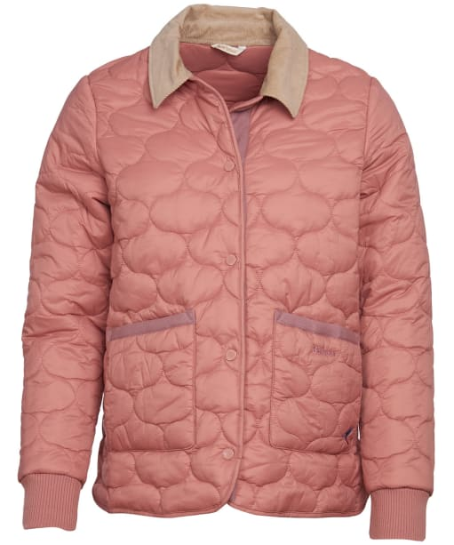Women's Barbour Hallie Quilted Jacket - Rustic Pink