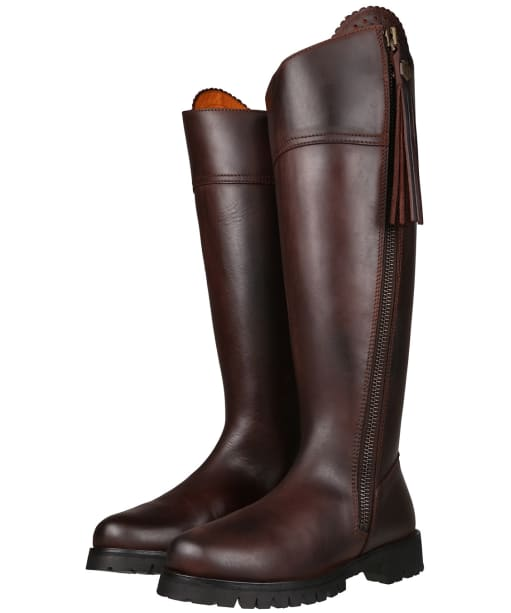 Women's Fairfax and Favor Explorer Sporting Fit Boots - Mahogany Leather
