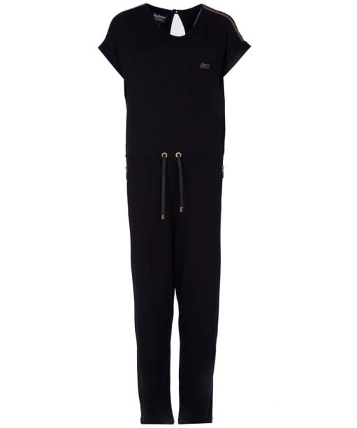 Women's Barbour International Zone Jumpsuit - Black