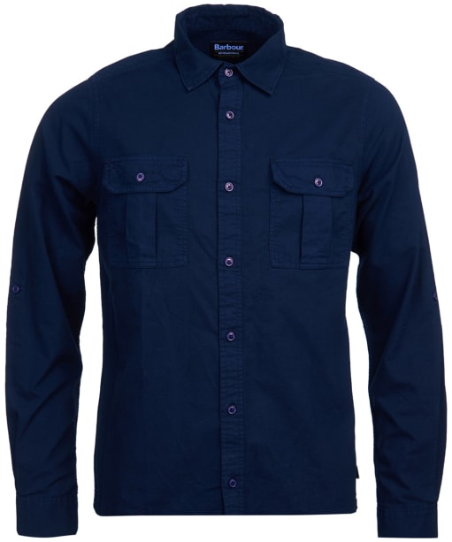 Men's Barbour International Manifold Shirt - Navy